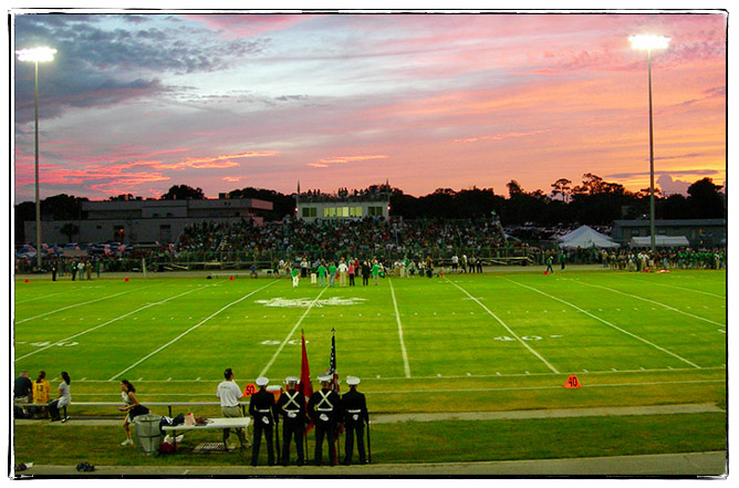 Homecoming Game Field Image