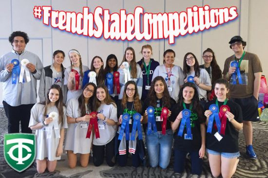 World Languages Score Big at State Competitions