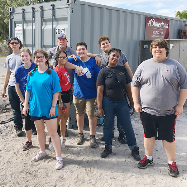 TC Habitat For Humanity (H4H) Club Goes Building