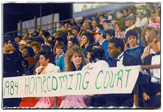 Home Coming Court 1984