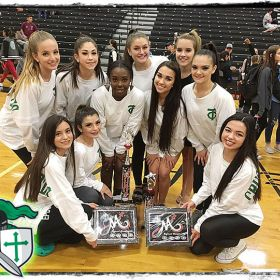 Crusaderettes Win Top Honors in Category at MA DANCE Regional Competition