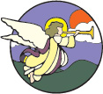 Angel and Trumpet Image