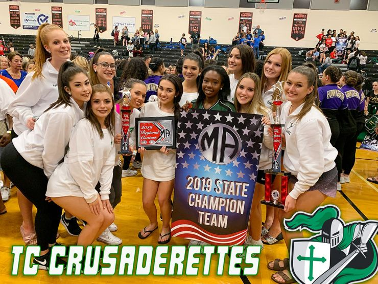 Introducing Your State Champion Crusaderettes Dance Team!