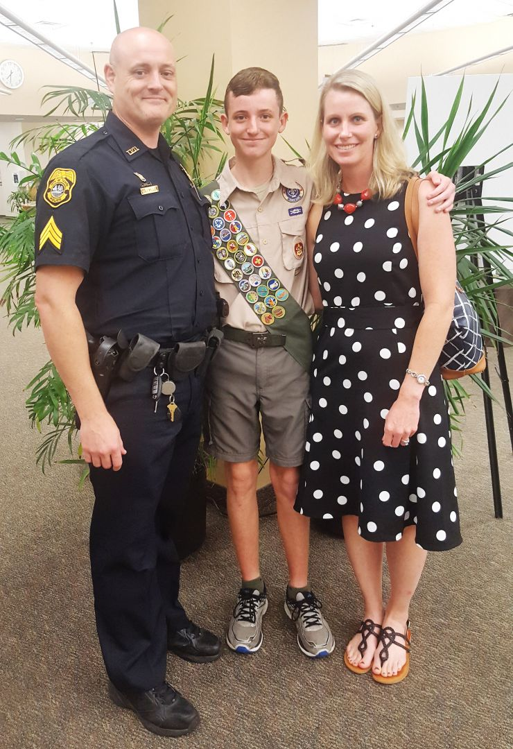 Riley's Journey to Eagle Scout