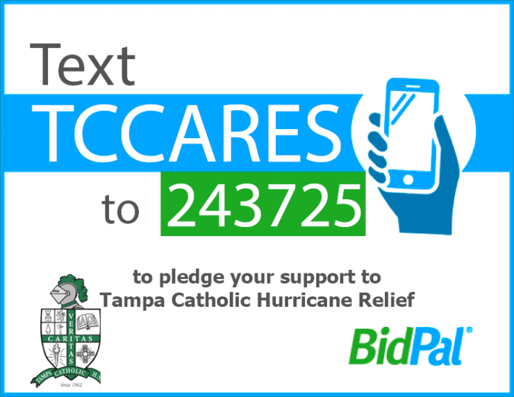 Tampa Catholic Pitches in for Hurricane Relief