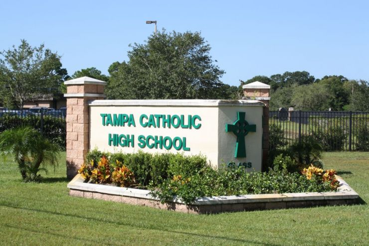 Tampa Catholic High School Image