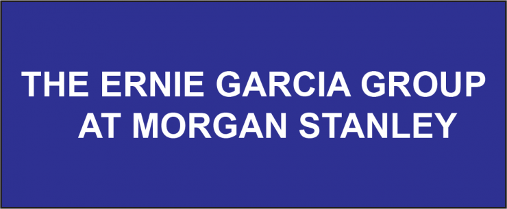 The Ernie Garcia Group at Morgan Stanley Logo