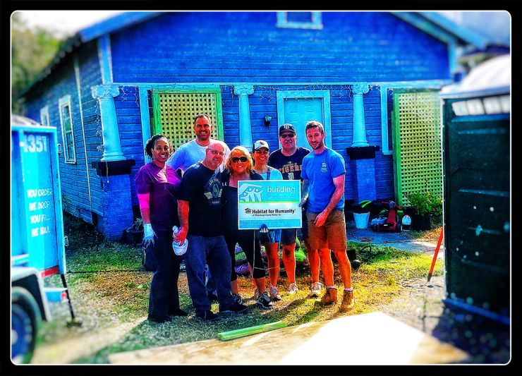 TC's Habitat for Humanity Club Volunteers for a Home Preservation