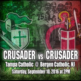 Crusader Football Travels to New York & New Jersey