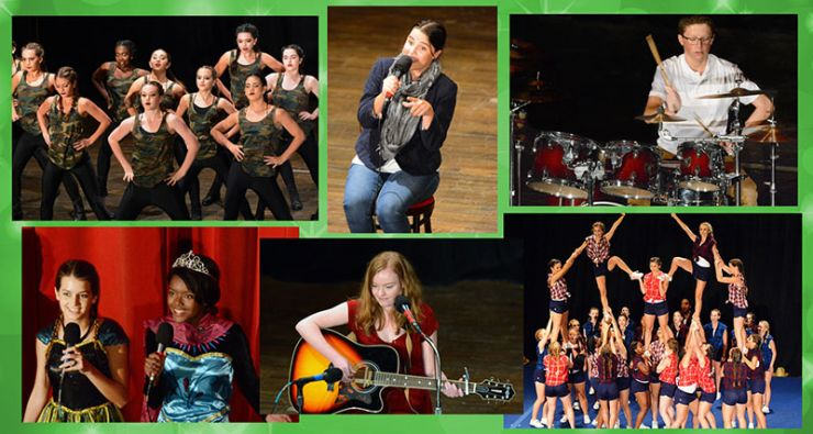 Talent Night Collage